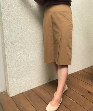 Toast Skirt_Deep Beige