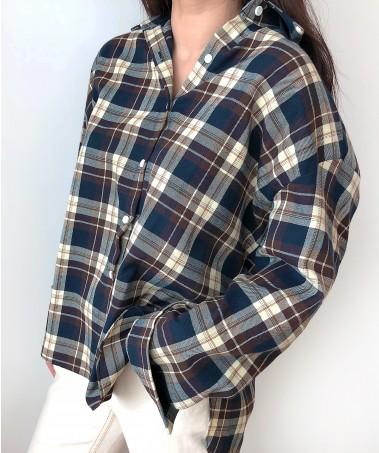 Block Shirts_Brown(2차 재입고)