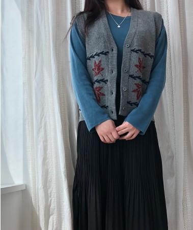 Maple Vest_Gray