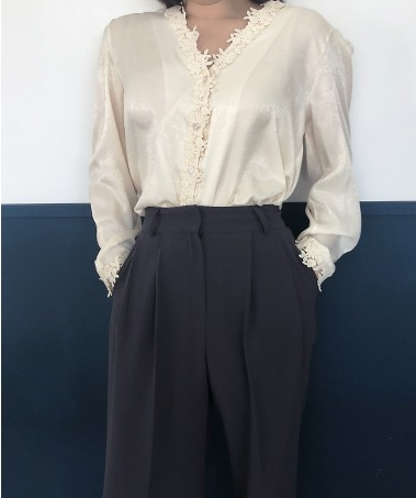 Mama Blouse_Beige